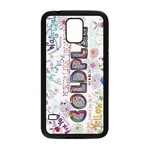 Alta calidad Durable Material de goma Coldplay Samsung Galaxy S5teléfono móvil