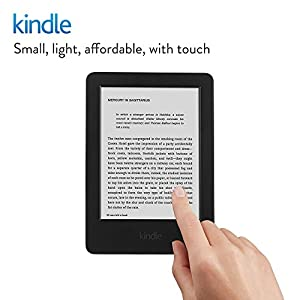 "Kindle E-reader, 6"" Glare-Free Touchscreen Display, Wi-Fi (Black) - Includes Special Offers (Previous generation - 7th)"