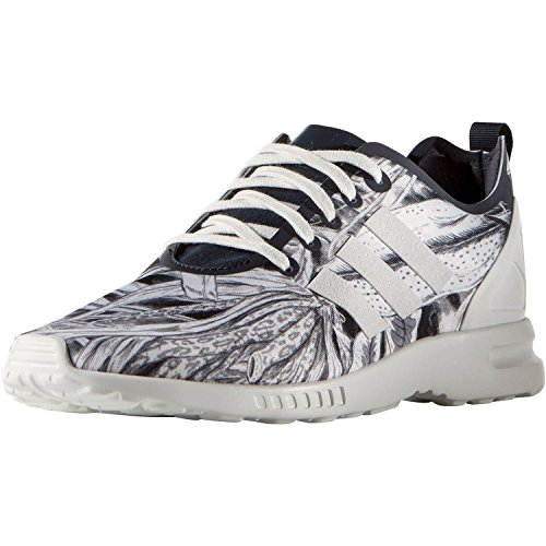 Gris Blanc Baskets Et Adidas Femme Flux Zx Smooth qwxOg0