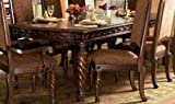 Cheap Ashley Furniture Signature Design – North Shore Dining Room Table – Dark Brown