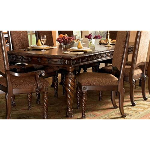 Signature Design By Ashley D553 35 North Shore Table, Dark Brown