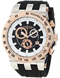 """Men's MW5-93503-023 """"Bluemarine Chronograph"""" Stainless Steel Two-Tone Casual Watch"""