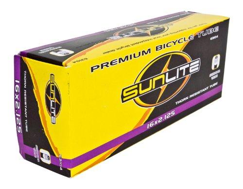 Sunlite Thorn Resistant Schrader Valve Tube, 16 x 2.125