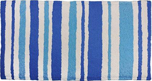 Jellybean Nautical Stripe Memory Foam