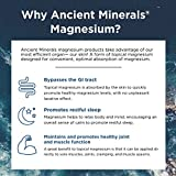 Ancient Minerals Magnesium Oil Spray 8 oz - Pure Genuine Zechstein Magnesium Chloride Supplement - Best Topical Skin Application for Dermal Absorption