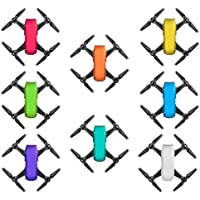 DZT1968 8pcs Waterproof Exquisite anti-scratches Decal Skins Wrap Sticker Body Protector for DJI Spark Mini Drone only