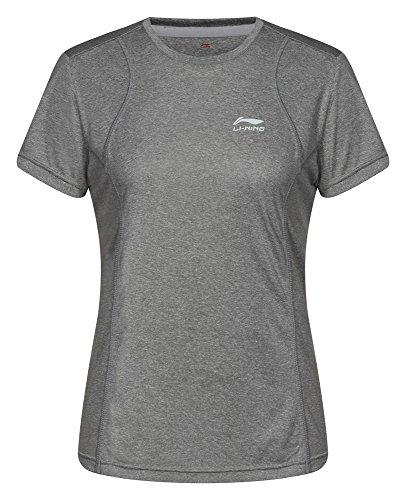 Li Ning para mujer T-Shirt Reese Gris - antracita