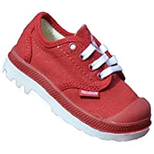Little Boys Little Girls Oxford Tie Up Slip On Canvas Sneakers Shoes with Laces