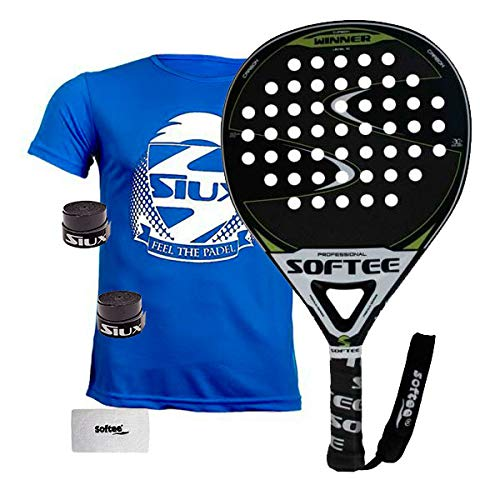 Softee 0013915 Pala Padel Winner, Azul, S: Amazon.es: Deportes y ...