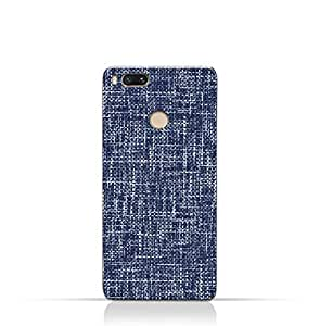 AMC Design Xiaomi Mi A1 TPU Silicone Case with Brushed Chambray Pattern