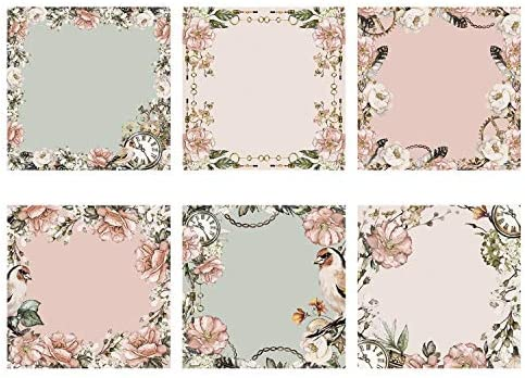 1 The Paper Boutique Steampunk Romance-7x7 Decorative Panel Pad
