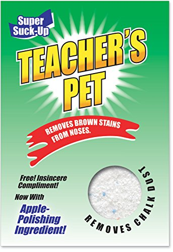 3860 'Teacher's Pet' - Funny Graduation Greeting Card with 5