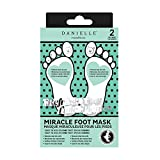 Danielle Miracle Nourishing Foot Mask, 2-Pack, 2