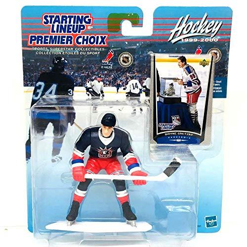 1999 NHL Starting Lineup - Wayne Gretzky - New York Rangers