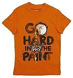 Outerstuff Phoenix Suns NBA Big Boys Go Hard in The Paint Shirt, Orange