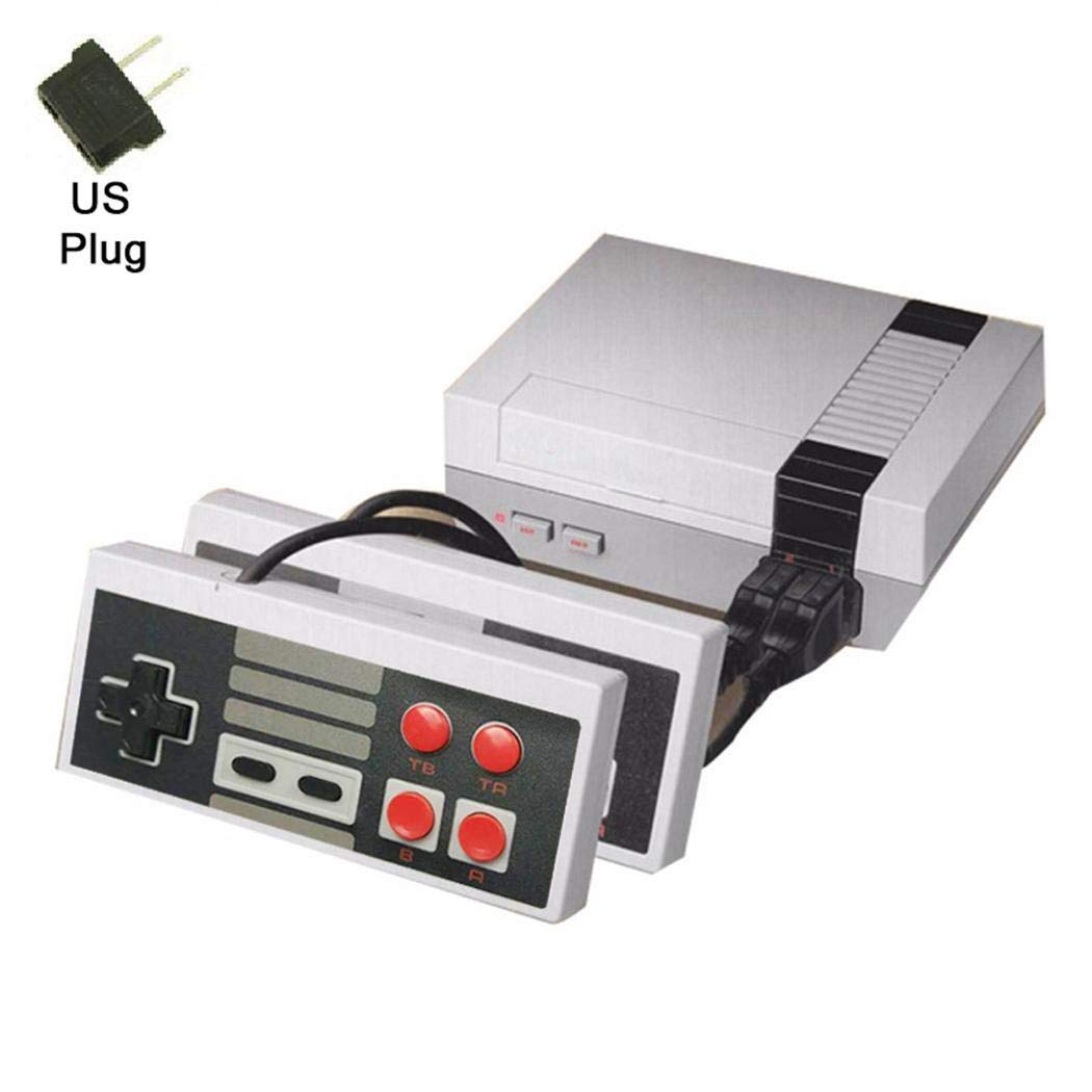 Chiak Retro Handheld Game Console Built-in 620 Classic Games with Dual Gamepad AV Output Function