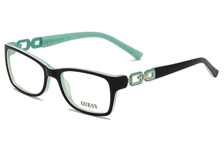 Guess Women\'s Eyeglasses GUA2406 2406 Blue/Green Full Rim Optical ...
