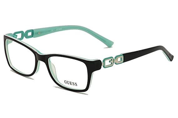 cc556217f1 Amazon.com  GUESS Eyeglasses GU 2406 Blue Green 52MM  Clothing