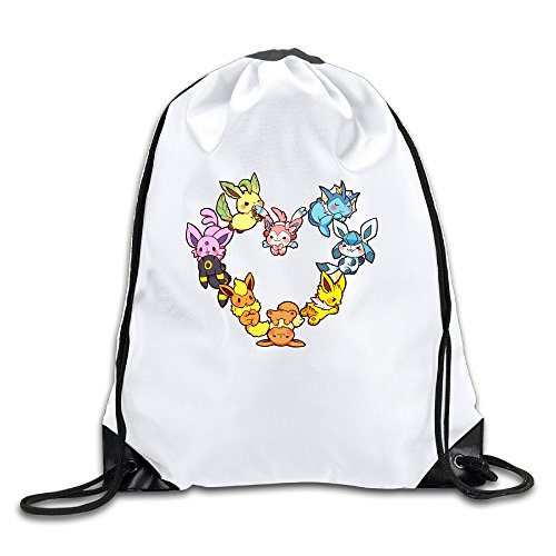 LHLKF Eevee Family Heart One Size New Design Travel Bag