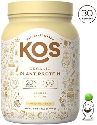 KOS Organic Plant Protein Powder product image