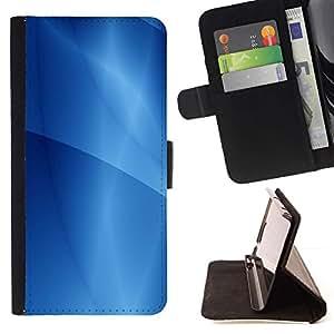 For Samsung Galaxy E5 E500 Case , Patrón Ubuntu Líneas de Agua- la tarjeta de Crédito Slots PU Funda de cuero Monedero caso cubierta de piel