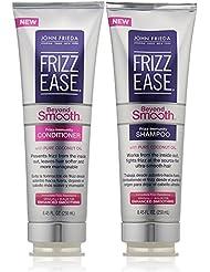 John Frieda Frizz Ease Beyond Smooth Bundle: Frizz Immunity Shampoo & Conditioner, 8.45 OunceEach