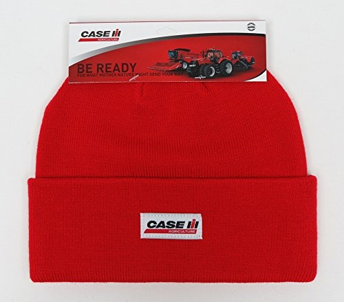 CaseIH Case IH Tractor Knit Beanie Hat, Red from 540Brands