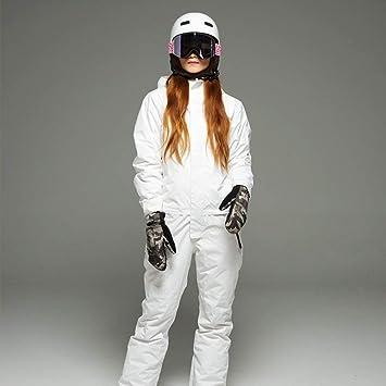 KWBgA Traje de esquí, Chaqueta de esquí de montaña para Mujer ...