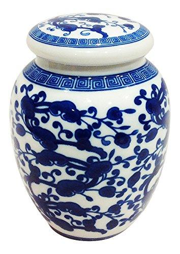 White Chinese Vases - 6