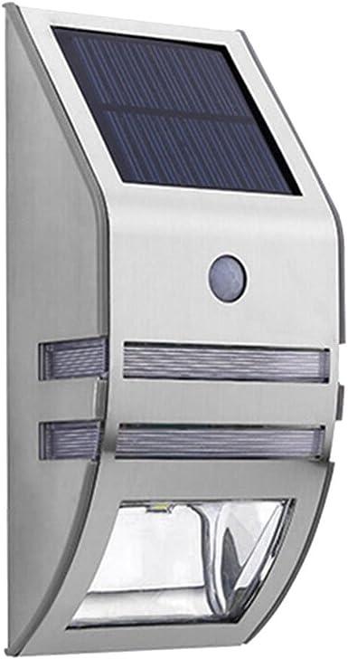 LEDMOMO LED Lámparas Solares, Luz del Sensor de Movimiento para Jardín, Terraza, Inicio, Escalera Exterior: Amazon.es: Iluminación