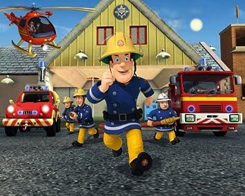 Amazon.com: Póster Mural de – Sam el bombero: Toys & Games