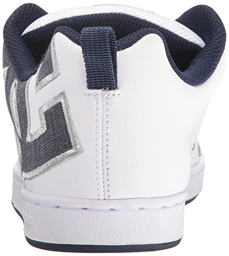 DC Women's Denim Court Graffik SE Sneaker UOwqU81