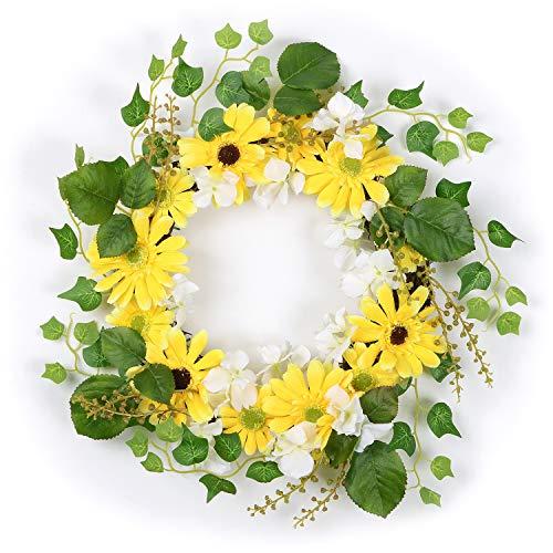 DearHouse Artificial Flower Wreath, 13