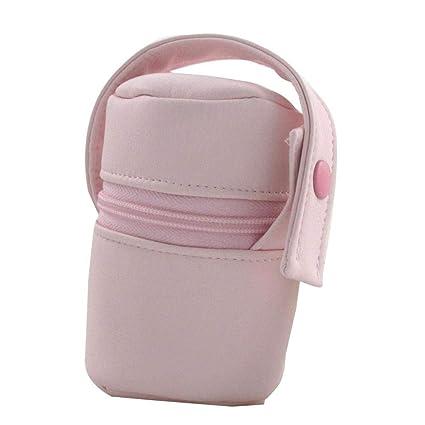 Suley Porta Chupete Polipiel Bebe - Color Rosa Bebe: Amazon ...