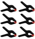 Heavy Duty Muslin Clamps 4 1/2 inch 6 Pack by Online Best Service