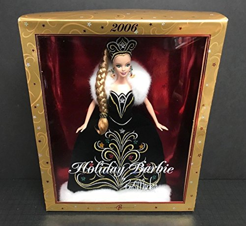 2006 Holiday Barbie by Bob Mackie Mattel Collector Edition doll Beautiful Dress - Bob Mackie Holiday Barbie