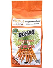 Olewo 12110 2.2-Pound Dehydrated Carrots, Dog Food Supplement