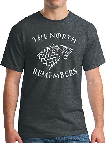 Winterfell GoT Shirt Arya The North Remembers Night King Dragon Direwolf DH S
