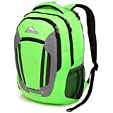 High Sierra Modi Backpack, Lime/Charcoal/Black