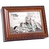 Cottage Garden Place Photo Children Woodgrain Traditional Music Box Plays You are my Sunshine