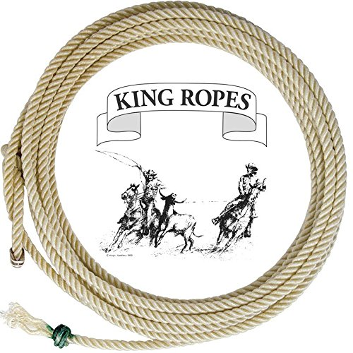 King Saddlery Inc. Treated Poly Calf Rope 10