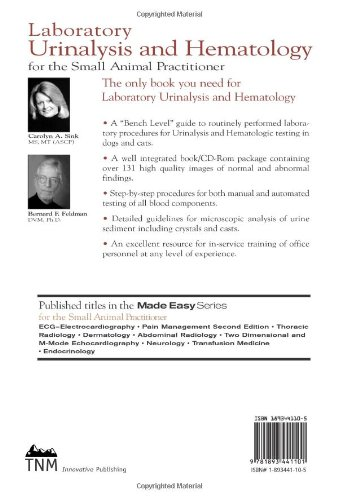 Laboratory Urinalysis and Hematology for the Small Animal Practitioner (Made Easy Series)
