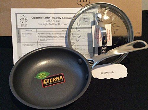 6 inch frying pan with lid - 8