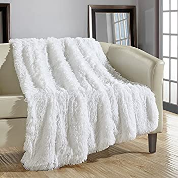decorative throw blankets target chic home piece shaggy fur super soft ultra plush blanket white cotton cheap