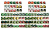 100 Assorted Valley Greene Heirloom Vegetable Seeds 100% Non-GMO (100, Deluxe Assorted Vegetable Seeds)