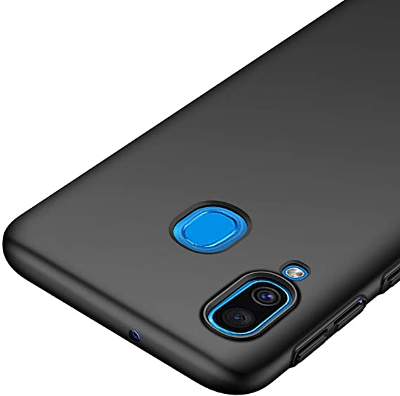 Richgle Funda Samsung Galaxy A40, Negro Ultra Slim Protectora ...