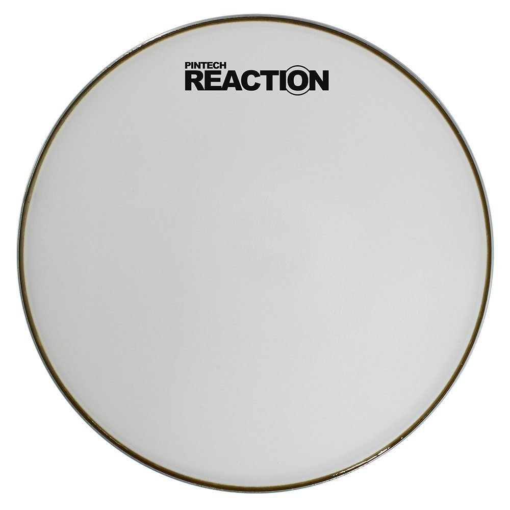 Pintech Percussion RH-10W White Reaction Series Mesh Head 10''