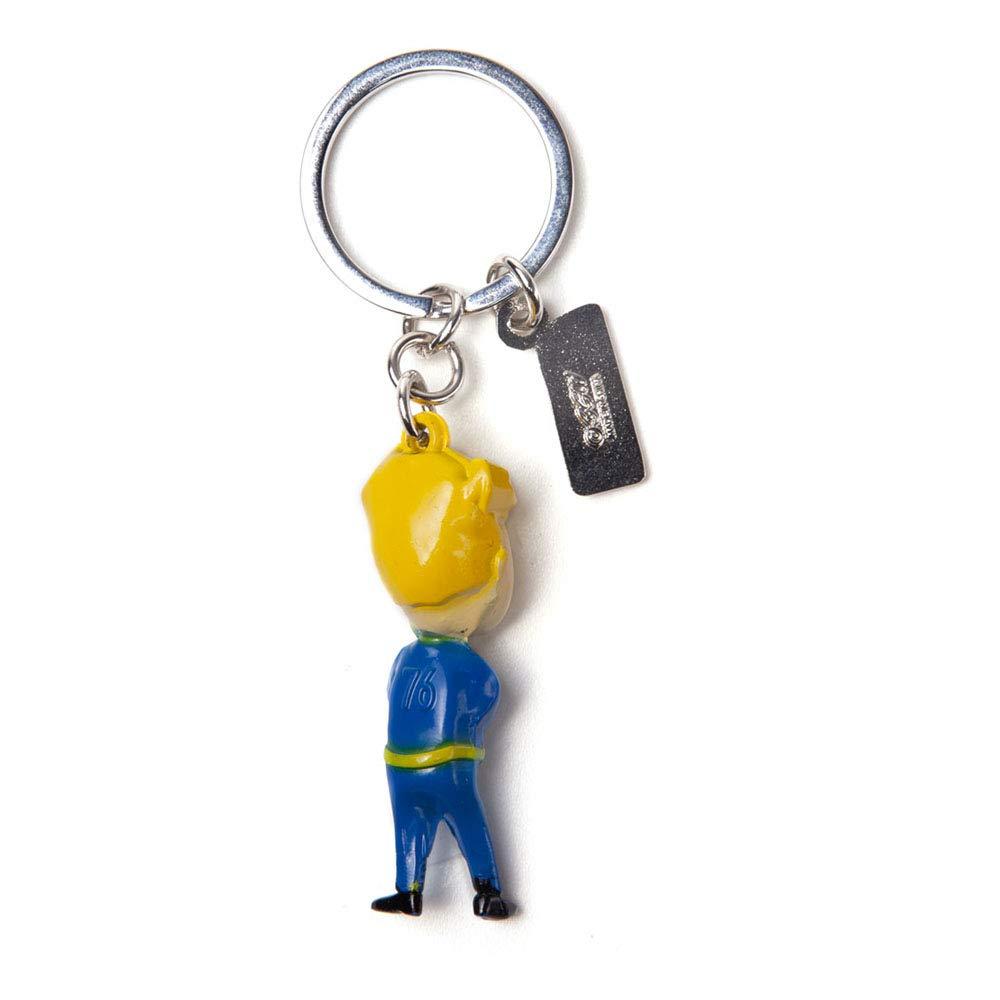 Fallout Fallout Vault Boy & Logo 3D Metal Keychain ...