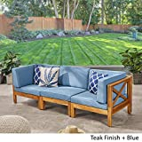 Great Deal Furniture Keith Outdoor Sectional Sofa
