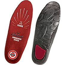 Thorogood Men's The Deuce Two Density Polyurethane Insoles,Red,S by Thorogood